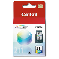 canon CL-211 Ink Cartridge 3-Color