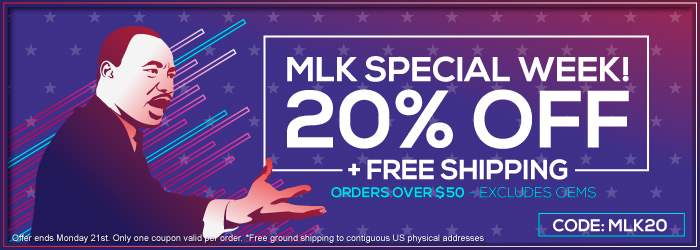 MLK Special Week! 20% OFF + Free Shipping. Ink and Toner orders over $50. Excludes OEMs. Code: MLK20. Offer ends Monday 21st. Only one coupon valid per order.