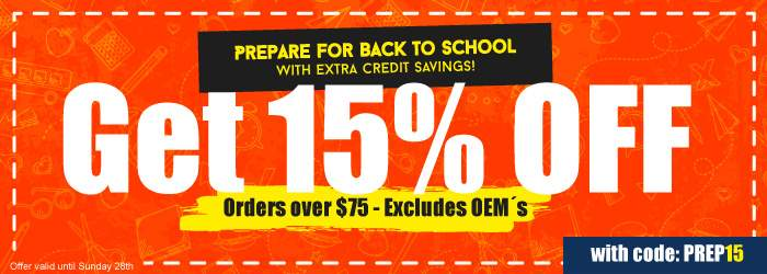 Prepare for Back to School with Extra Credit Savings!